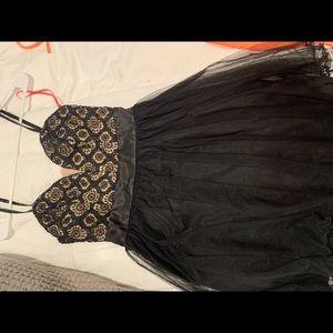 windsor ruffle dress